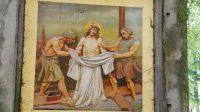 Příprava na Ježíšovo ukřižování