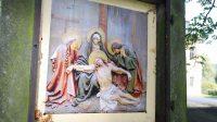 Ježíšovo mrtvé tělo na klíně matky