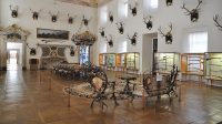Hlavní sál - nábytek z parožé