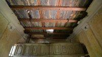 Interiér kaple - strop