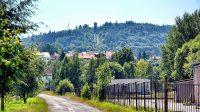 8. 8. 2015 - pohled na Křížovou horu z Horního Podluží