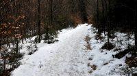 25.2.2019 - Cesta do údolí k vodopádu