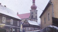 80. léta 20. století - obec Skalná