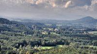 Pohled na skalní hrad z Ortelu