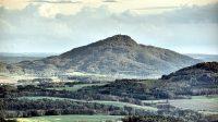 20. 10. 2014 - Ralsko z Rousínovského vrchu nad Svorem