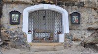 Kaple Božího hrobu v roce 2020 (Ježíšovo tělo položeno do hrobu)