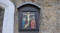 Ježíš na kříži umírá