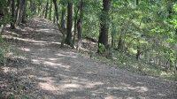 Cesta po úpatí kopce