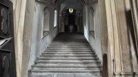 Centrální schodiště Svatých schodů