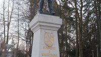 Socha Albrechta z Valdštejna v Lázních Libverda