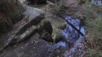 16. 4. 2020 - horní hrana vodopádu