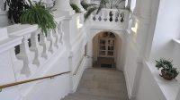 Zámecké schodiště - březen 2018