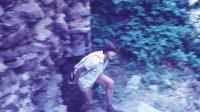 80. léta 20. století - branka ve zdi u parkánu