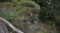 26. 9. 2014 - pohled do příkopu z lávky