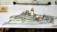 29. 6. 2014 - hmotová rekonstrukce hradu