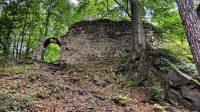29. 6. 2014 - branka a zeď hradního jádra