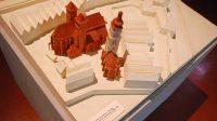 Model katedrály, věže a kaple