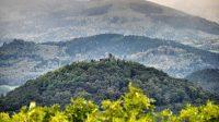 26. 9. 2014 - Pohled na Šumburku z hradu Egerberk (Lestkov)