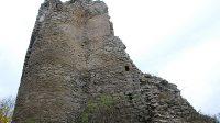 Bašta a zbytek jižní stěny paláce