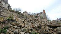 Ruiny v místě druhé bašty