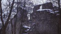 Hrad v 80. letech 20. století