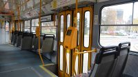 Interiér tramvaje