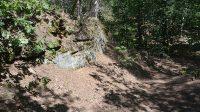 Ostrožna na konci skal
