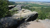 Výhled ze skal