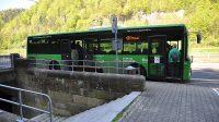 Autobusová zastávka Hřensko - nábřeží