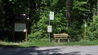 Lesní autobusová zastábka