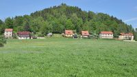Kaiserkrone nad obcí Schöna
