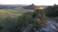 Pohled na Zirkelstein z Kaiserkrone