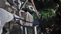 Přístupové schodiště