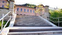 Schodiště k nádraží v Bad Schandau