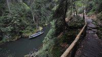 Soutěsky Křinice - plavba na lodičkách