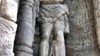 Září 2015 - socha Krista po Bičování