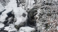 První vodopád přímo u vozovky
