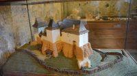 Model hradu v expozici