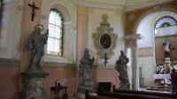 Interiér kaple sv. Jana Nepomuckého