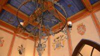 Interiér romantického paláce