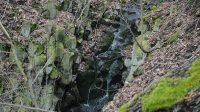 Pohled na vodopád shora