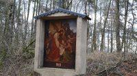 Veronika podává Ježíšovi potní roucho