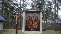Ježíš na kříž přibyt