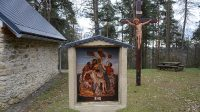 Ježíše s kříže sňato a na klín své matky uloženo