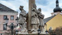 Svatý Florián a svatý  Jan Nepomucký