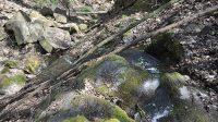 Druhý a nejvyšší stupeň vodopádu shora