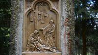 XIII. Tělo Ježíše položeno do klína jeho matky