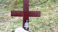 Zastavení deváté - Ježíš padá potřetí pod těžkým křížem...
