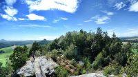 Pohled směrem k Zirkelsteinu