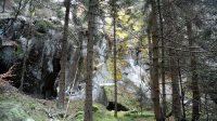 Údolí pod Kohoutím vrchem - bývalý lom 2. 1. 2021